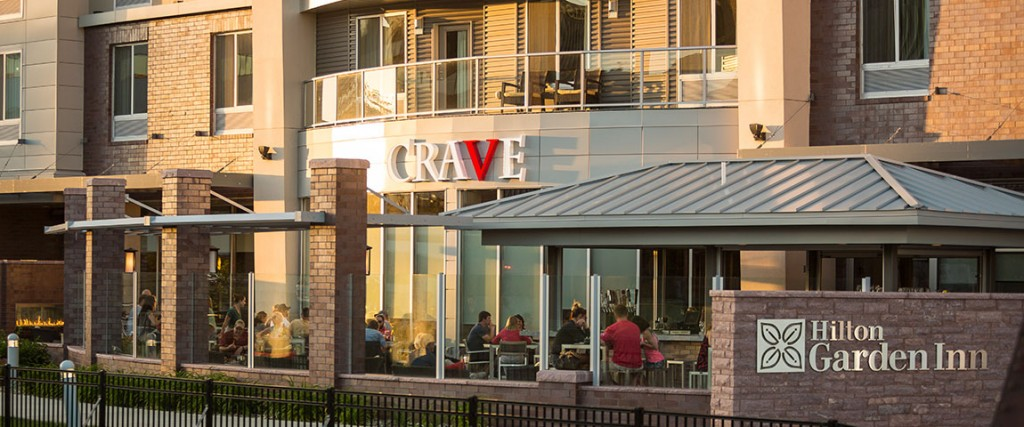 Hilton Garden Inn Downtown - CRAVE Patio