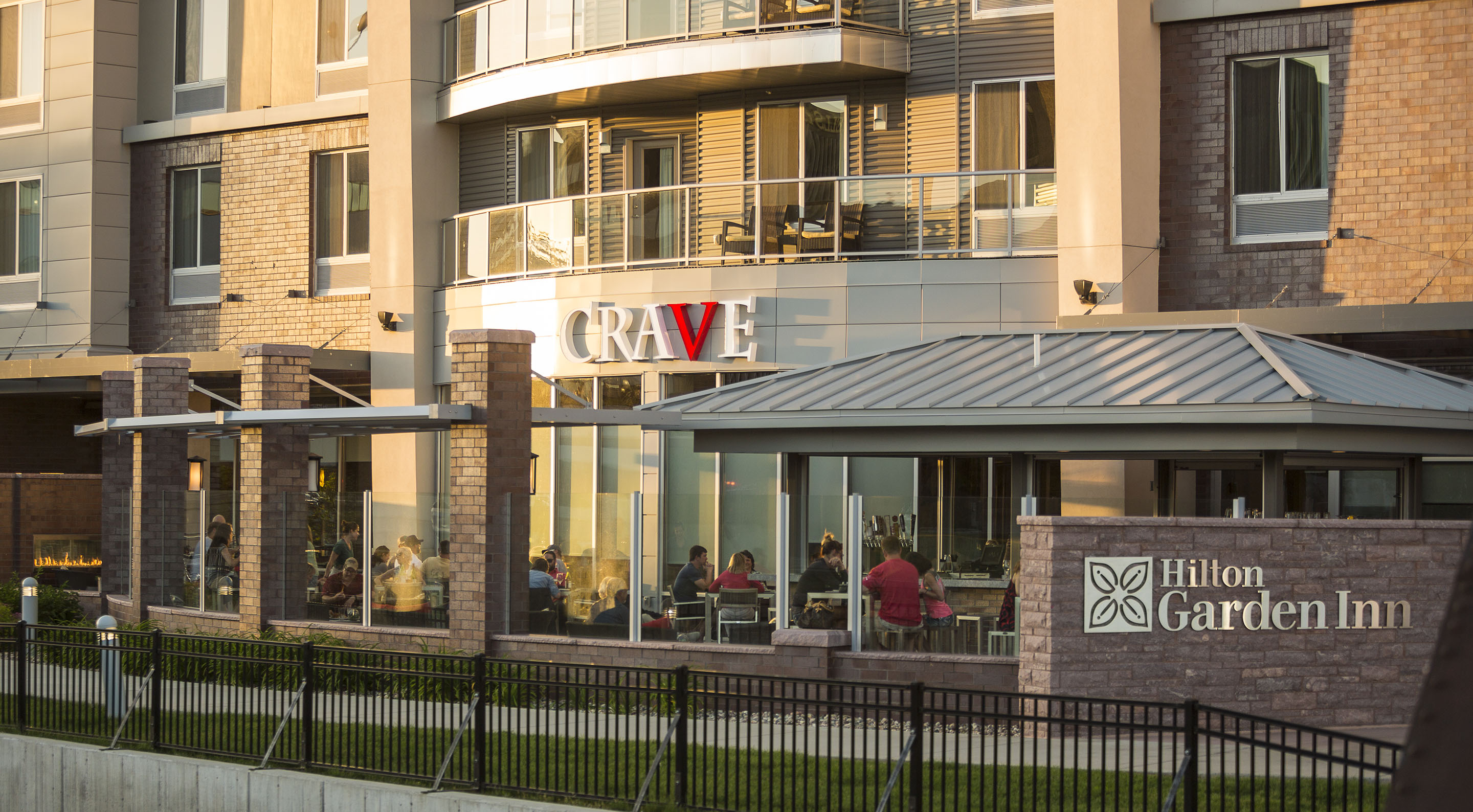 CRAVE Sioux Falls patio